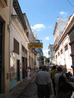 Hemingway walked this very alley to get to La Bodeguita del Medio and enjoy and Mojito!