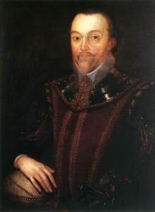 Our hero and the Mojito's original namesake, Sir Francis Drake.