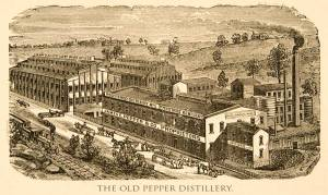 The original Pepper Distillery. Photograph courtesy of www.jamesepepper.com