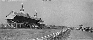 Churchill Downs in 1902 www.wikipedia.com